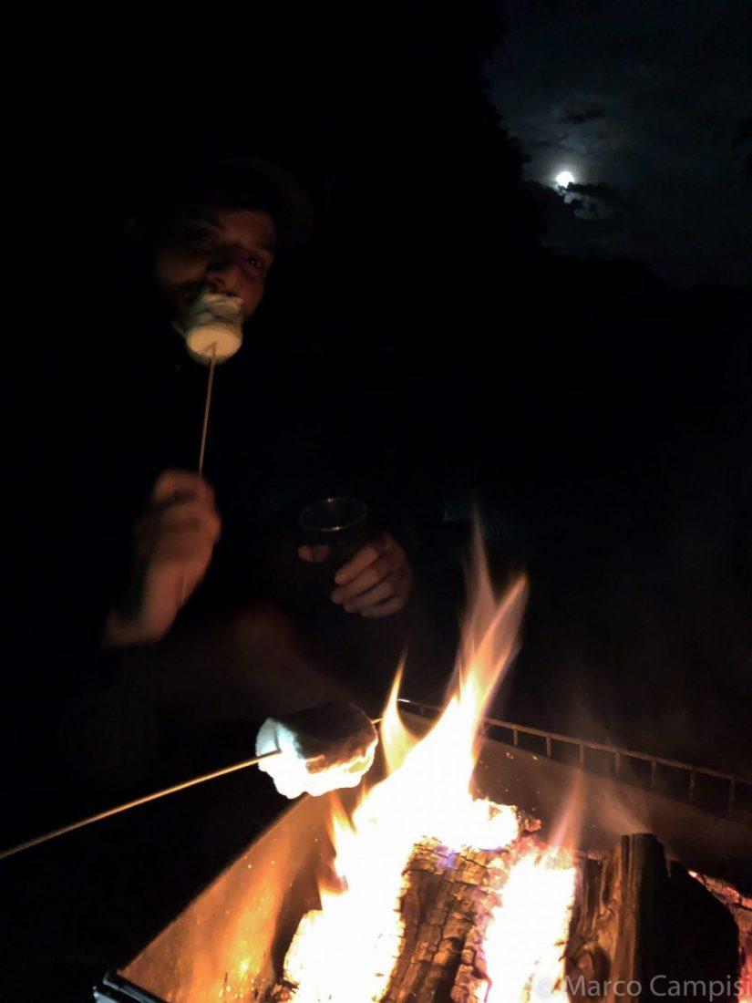 marshmallow campeggio